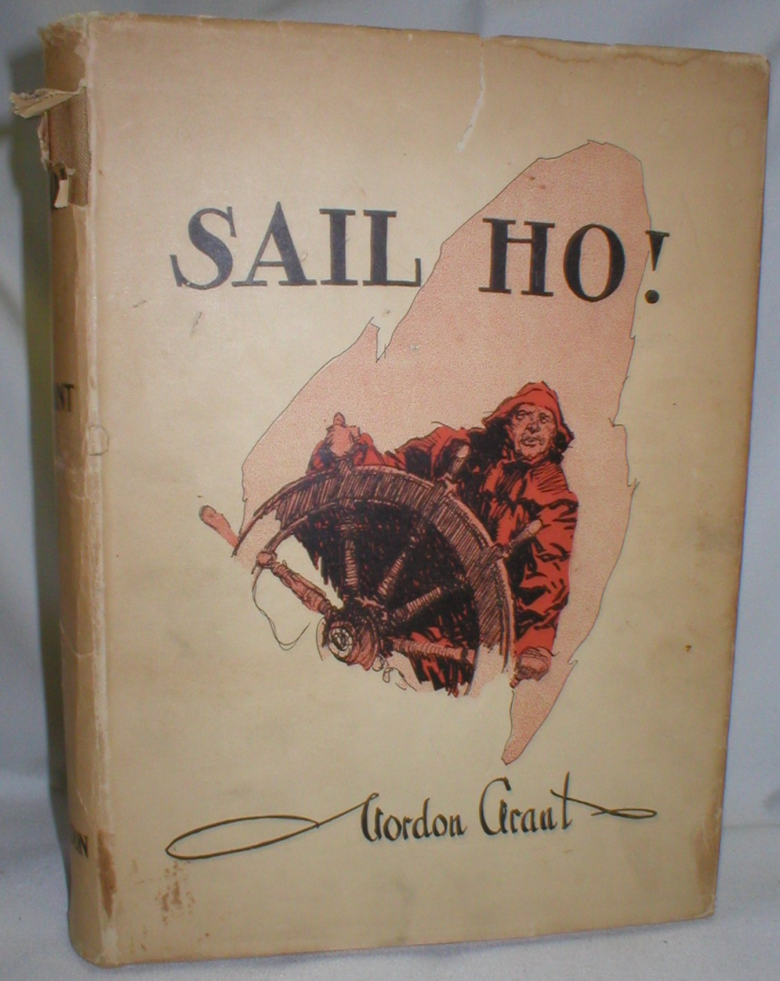 Sail Ho ! Windjammer Sketches Alow and Aloft