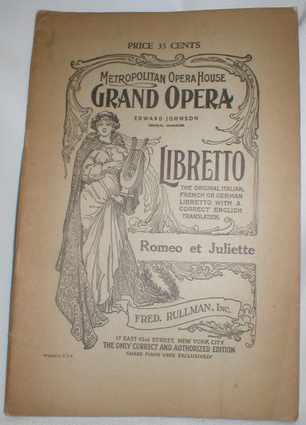 Image for Romeo et Juliette