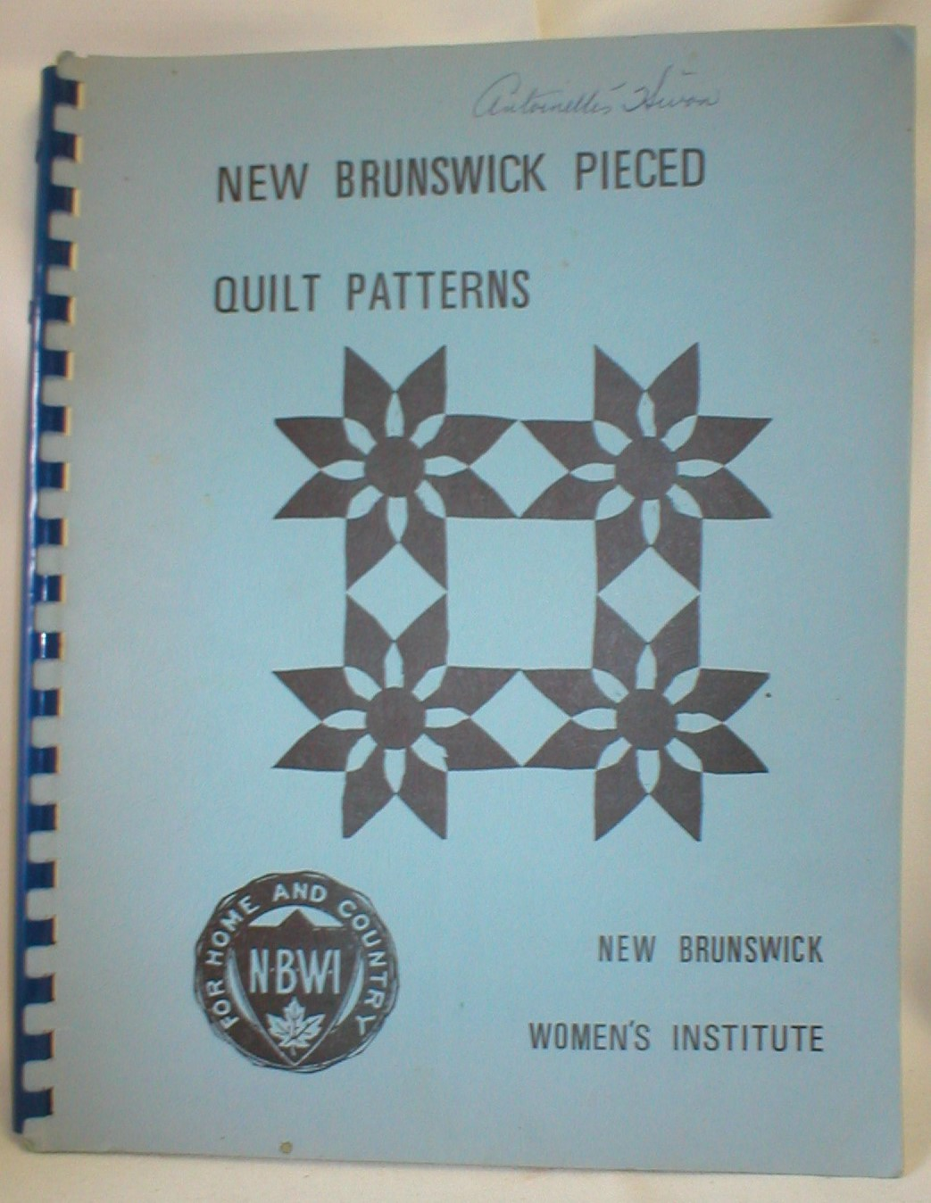 Image for New Brunswick Pieced Quilt Patterns