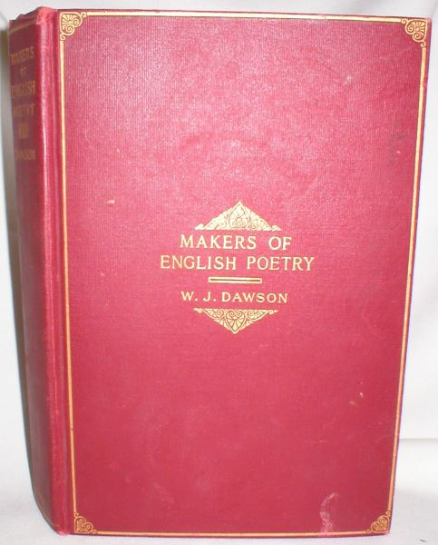 Image for The Makers of English Poetry