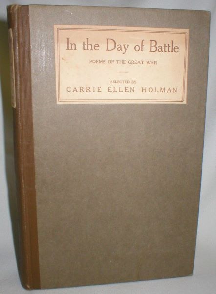 Image for In the Day of Battle; Poems of the Great War