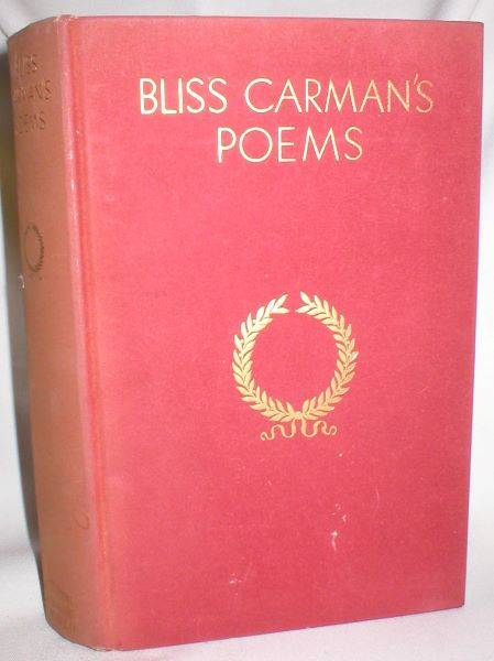 Image for Bliss Carman's Poems
