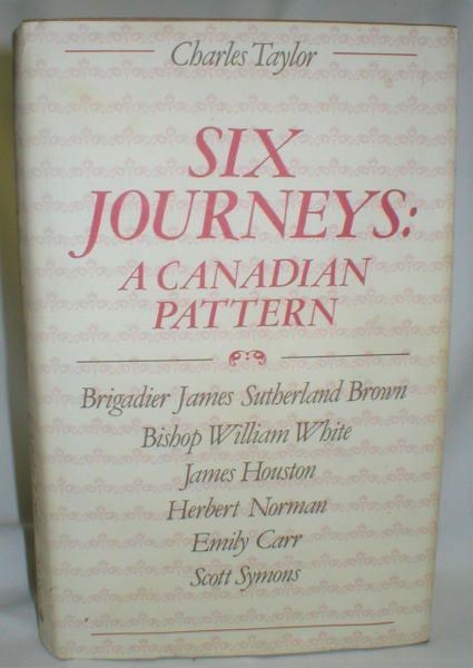Image for Six Journeys; A Canadian Pattern
