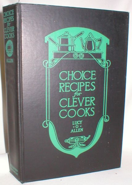 Image for Choice Recipes for Clever Cooks
