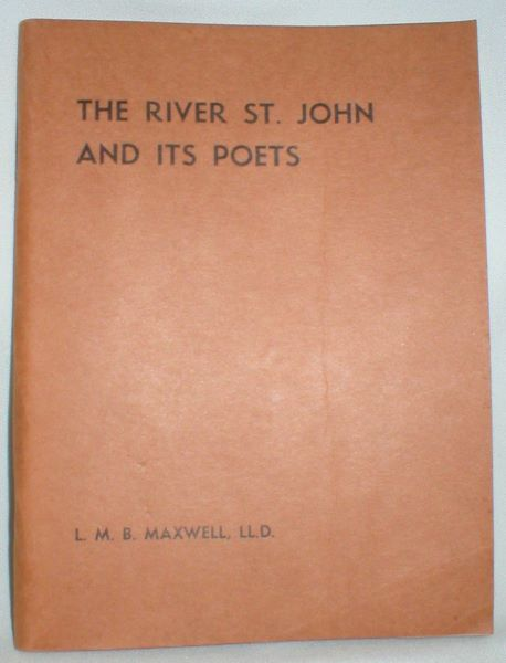 Image for The River St. John and Its Poets