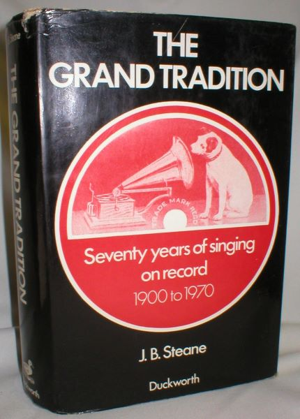 Image for The Grand Tradition; Seventy Years of Singing on Record 1900-1970