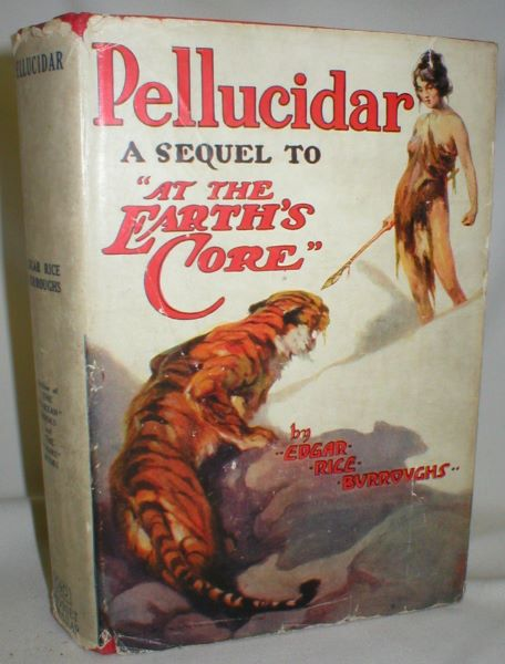 "Image for Pellucidar; A Sequel to "" At the Earth's Core"""