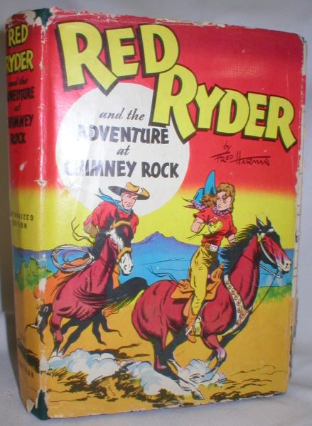 Image for Red Ryder and the Adventure at Chimney Rock