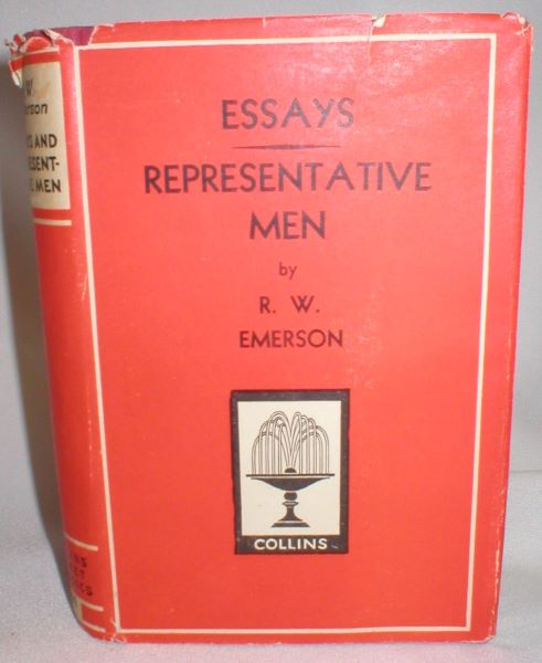 Image for Essays/ Representative Men