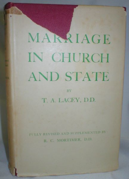Image for Marriage in Church and State