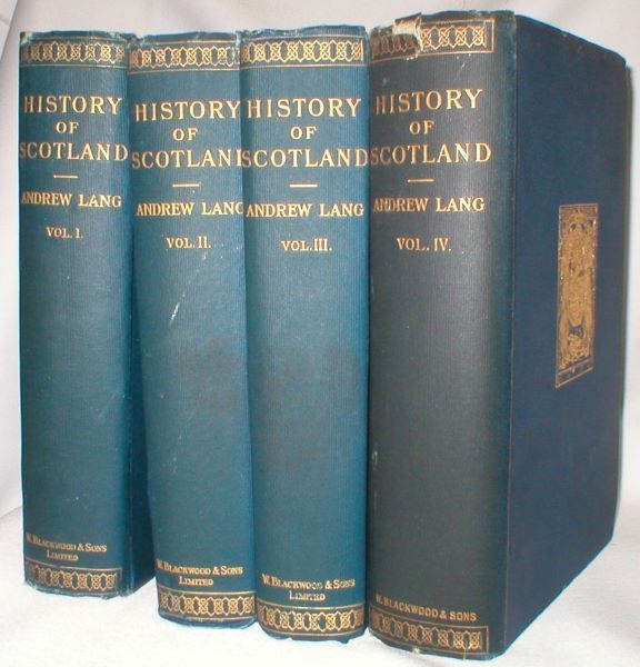 Image for A History of Scotland from Roman Occupation (Complete in Four Volumes)