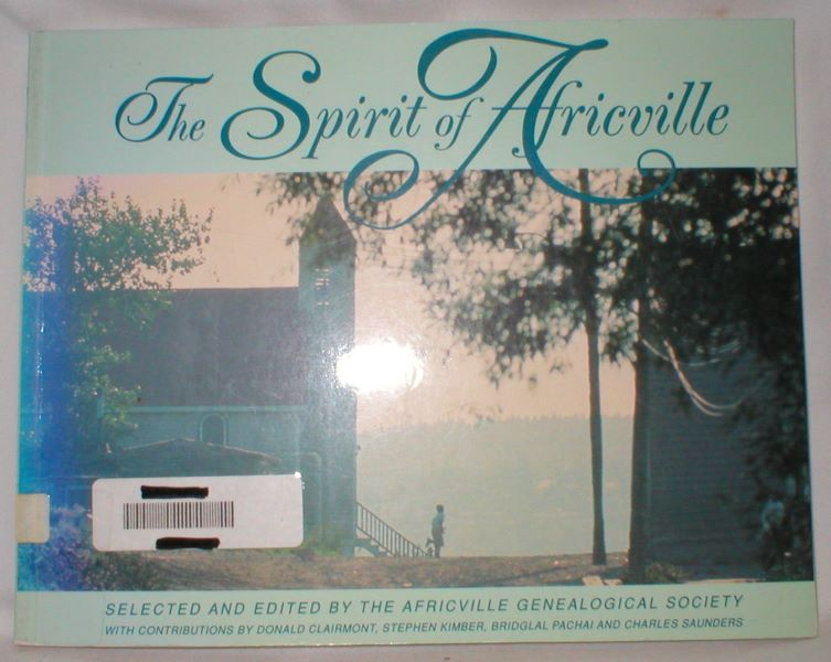 Image for The Spirit of Africville